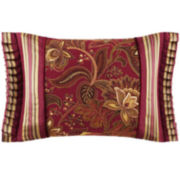 """Queen Street® Scarlet 20"""" Oblong Decorative Pillow"""