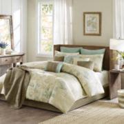 Madison Park Eden 12-pc. Jacquard Comforter Set