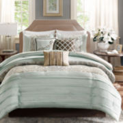 Madison Park Cotswald Pleated 7-pc. Comforter Set