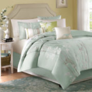 Madison Park Athena 7-pc. Jacquard Comforter Set