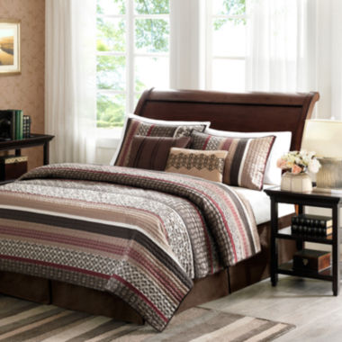 jcpenney.com | Madison Park Dartmouth 5-pc. Quilt Set