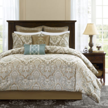 jcpenney.com | Madison Park Sheffield 8-pc. Comforter Set