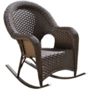Outdoor Wicker Rocker