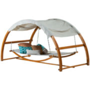 Tonga Hanging Swing Bed with Canopy