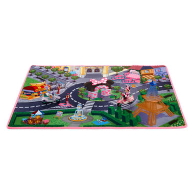 jcpenney.com | Disney Collection Minnie and Daisy Paris Playmat and Scooters