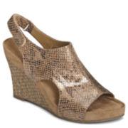 A2 by Aerosoles® Cloud Plush Wedge Sandals