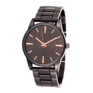 jcpenney.com | Zunammy® Mens Black Dial Black Strap Watch