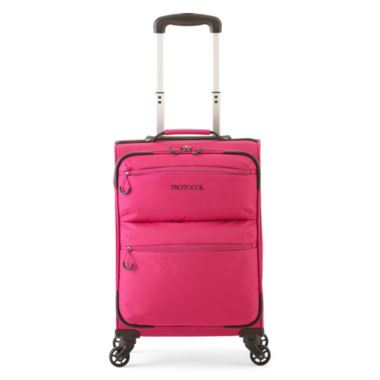 "jcpenney.com | Protocol® Travelite 21"" Spinner Luggage"