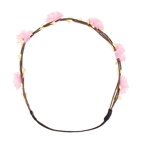 Capelli of New York Floral Elastic Headwrap