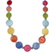 Mixit™ Rainbow Shell Single-Row Necklace
