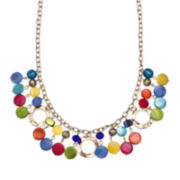 Mixit™ Rainbow Shell Shaky Necklace