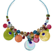 Mixit™ Rainbow Shell Coil Necklace