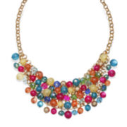Mixit™ Rainbow Bead Cluster Necklace