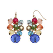 Mixit™ Rainbow Bead Cluster Earrings