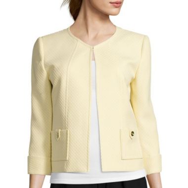 jcpenney.com | Chelsea Rose Long-Sleeve Jacquard Jacket
