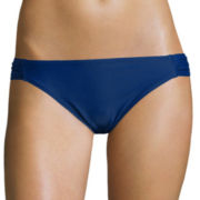 Arizona Americana Solid Side-Tab Hipster Swim Bottoms - Juniors