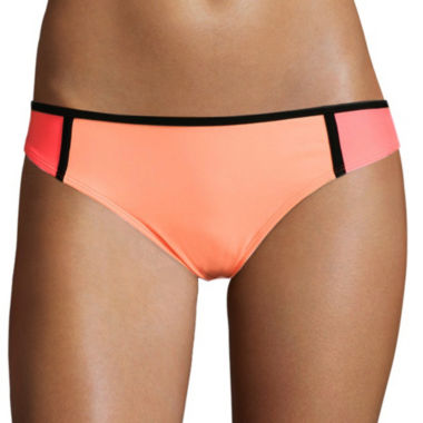 jcpenney.com | Arizona Colorblock Hipster Swim Bottoms - Juniors