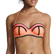 Arizona Colorblock Pushup Bandeau Swim Top - Juniors