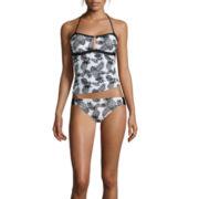Arizona Pineapple Zippered Swim Top or Hipster Swim Bottoms or Swim Coverup