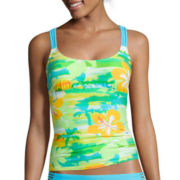 Arizona Multi-Strap Tankini Swim Top - Juniors