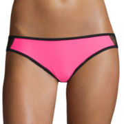Arizona This & That Side-Mesh Hipster Swim Bottoms - Juniors