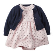 Carter's® Dress and Cardigan Set - Baby Girls newborn-24m