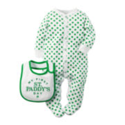 Carter's® St. Patrick's Day Footed Pajamas - Baby newborn-9m