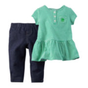 Carter's St. Patrick's Day Tunic and Leggings Set - Baby Girls newborn-24m