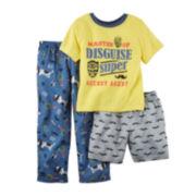 Carter's® 3-pc. Secret Agent Pajama Set - Preschool Boys 4-7