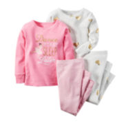 Carter's® 4-pc. Dancer Pajama Set - Preschool Girls 4-7