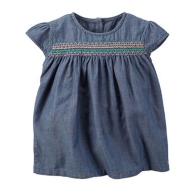 jcpenney.com | Carter's® Chambray Top - Toddler Girls 2t-5t