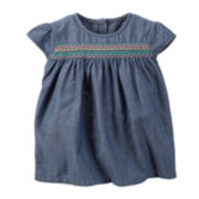 Carter's® Chambray Top - Toddler Girls 2t-5t