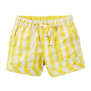 Carter's® Gingham Woven Shorts - Toddler Girls 2t-5t