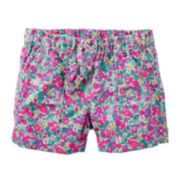 Carter's® Floral Woven Shorts - Toddler Girls 2t-5t