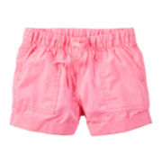 Carter's® Pink Woven Shorts - Toddler Girls 2t-5t
