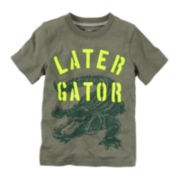 Carter's® Gator Graphic Tee - Toddler Boys 2t-5t