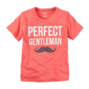 Carter's® Gentleman Graphic Tee - Toddler Boys 2t-5t
