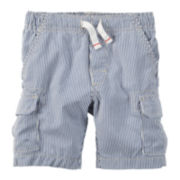 Carter's® Pinstripe Cargo Shorts - Toddler Boys 2t-5t
