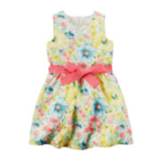 Carter's® Floral Print Sleeveless Dress - Toddler Girls 2t-5t