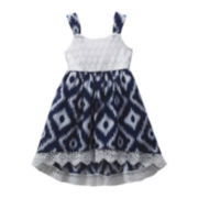 Youngland® Lace Dress - Preschool Girls 4-6x