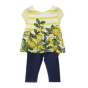 Marmellata Top and Leggings Set - Preschool Girls 4-6x