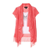 by&by Girl Cozy with Fringe - Girls 7-16