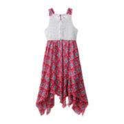 Emily West® Aztec Print Sleeveless Dress - Girls 7-16