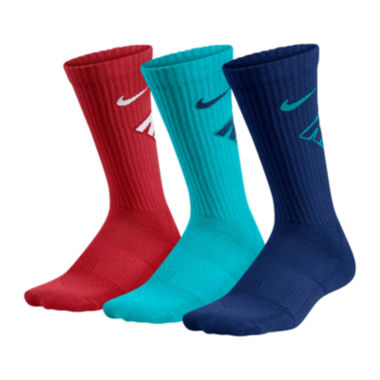 jcpenney.com | Nike® 3-pk. Graphic Crew Socks - Boys