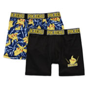 Pokemon 2-pk. Boxer Briefs - Boys 4-10
