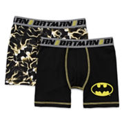 Batman 2-pk. Boxer Briefs - Boys 4-10