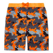Arizona Camo Swim Trunks - Preschool Boys 4-7