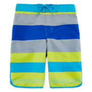 Arizona Striped Swim Trunks - Boys 8-20 and Husky