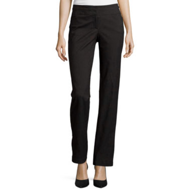 jcpenney.com | Heart & Soul® Double-Waistband Pinstriped Pants