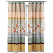 Greenland Home Fashions Geneva 2-Pack Tab-Top Curtain Panels